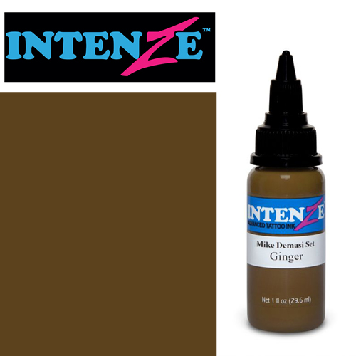 iTC Tattoo et Piercing - Encre INTENZE, stérile, 1 Oz (30ml),coloris : DEMASI Ginger
