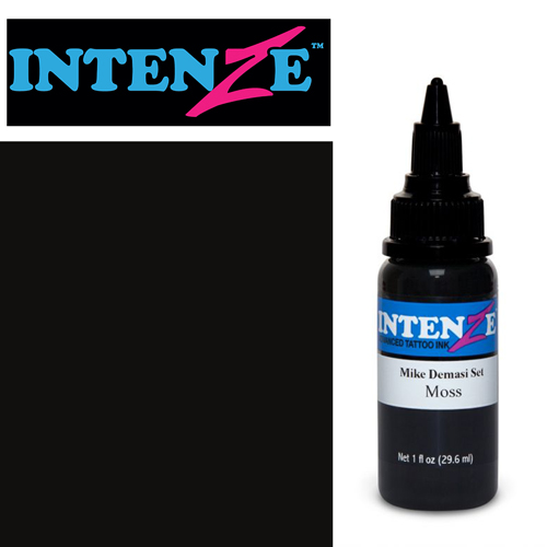 iTC Tattoo et Piercing - Encre INTENZE, stérile, 1 Oz (30ml),coloris : DEMASI Moss