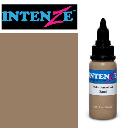 iTC Tattoo et Piercing - Encre INTENZE, stérile, 1 Oz (30ml),coloris : DEMASI Sand
