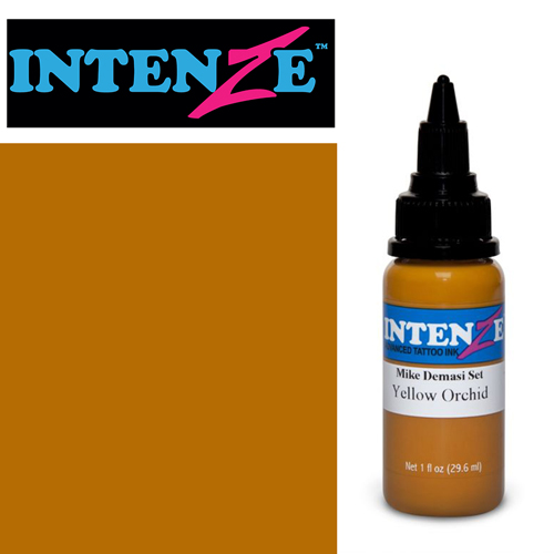 iTC Tattoo et Piercing - Encre INTENZE, stérile, 1 Oz (30ml),coloris : DEMASI Yellow Orchid