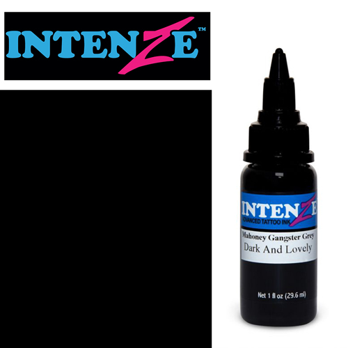 iTC Tattoo et Piercing - Encre INTENZE, stérile, 30ml,coloris :Mahoney Dark and Lovely