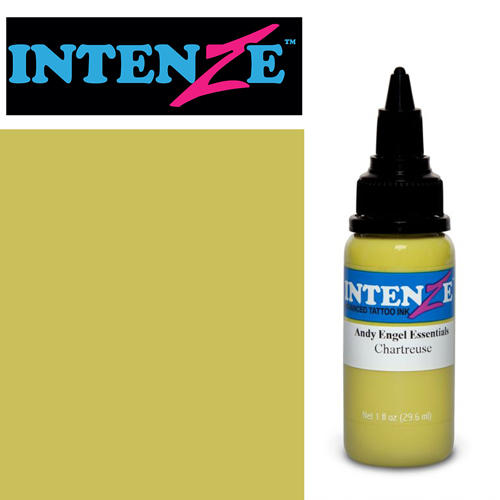 iTC Tattoo et Piercing - Encre INTENZE, st�rile, 1 Oz (30ml),coloris :Chartreuse