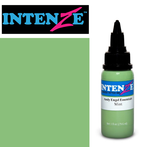 iTC Tattoo et Piercing - Encre INTENZE, stérile, 1 Oz (30ml),coloris :Mint