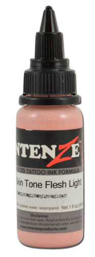 iTC Tattoo et Piercing - Encre INTENZE, stérile, 1 Oz (30ml),coloris :Skin Tone Flesh Light