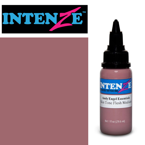 iTC Tattoo et Piercing - Encre INTENZE, stérile, 1 Oz (30ml),coloris :Skin Tone Natural Medium