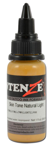 iTC Tattoo et Piercing - Encre INTENZE, stérile, 1 Oz (30ml),coloris :Skin Tone Natural Light