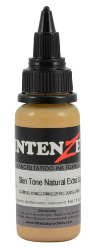 iTC Tattoo et Piercing - Encre INTENZE, stérile, 1 Oz (30ml),coloris :Skin Tone Natural Extra