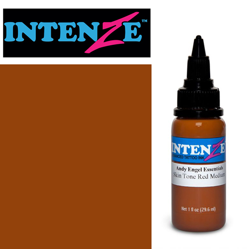 iTC Tattoo et Piercing - Encre INTENZE, stérile, 1 Oz (30ml),coloris :Skin Tone Red Medium