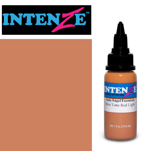 iTC Tattoo et Piercing - Encre INTENZE, stérile, 1 Oz (30ml),coloris :Skin Tone Red Light