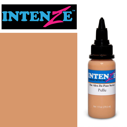 iTC Tattoo et Piercing - Encre INTENZE, stérile, 1 Oz (30ml),coloris :Pelle