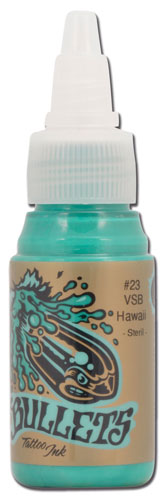 iTC Tattoo et Piercing - Encre BULLETS stérile 35ml, coloris VSB HAWAII #23