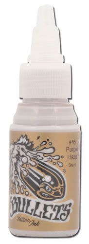 Encre BULLETS st�rile 35ml, coloris PURPLE HAZE #45