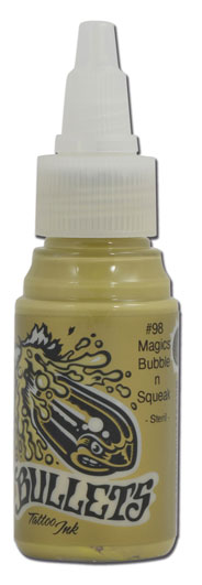 Encre BULLETS stérile 35ml, coloris MAGICS BUBBLE N SQUEAK #98