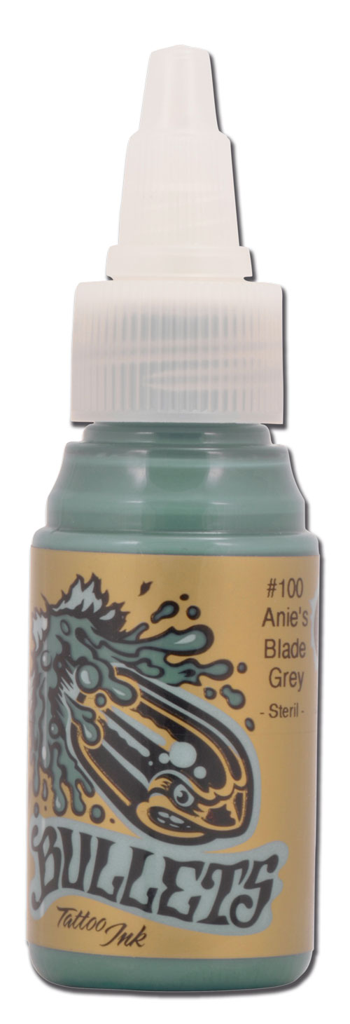 Encre BULLETS st�rile 35ml, coloris ANIE'S BLADE GREY #100