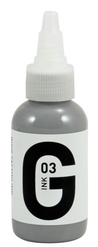 iTC Tattoo et Piercing - Encre GINK  stérile 50ml Grey N°3