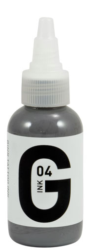 iTC Tattoo et Piercing - Encre GINK  stérile 50ml Grey N°4