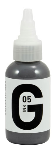 iTC Tattoo et Piercing - Encre GINK  stérile 50ml Grey N°5