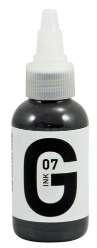 iTC Tattoo et Piercing - Encre GINK  stérile 50ml Grey N°7