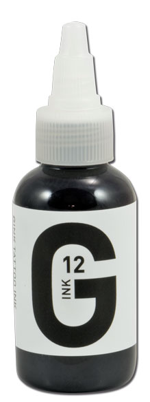 iTC Tattoo et Piercing - Encre GINK  stérile 50ml Grey N°12