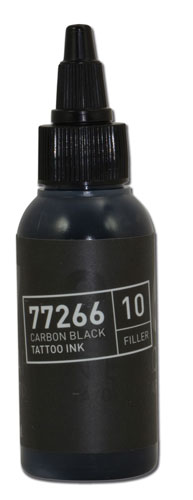 Encre BULLETS stérile 50ml 77266 CARBON BLACK 10 FILLER