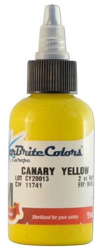 Encre STARBRITE EUROPE, stérile, coloris CANARY YELLOW - 0I702