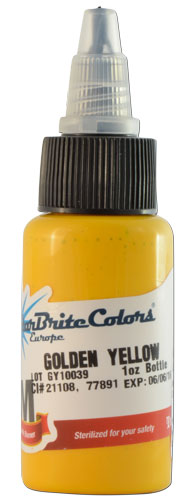 Encre STARBRITE EUROPE, stérile, coloris GOLDEN YELLOW - 0I703