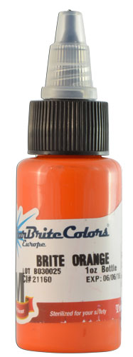 Encre STARBRITE EUROPE, stérile, coloris BRITE ORANGE - 0I704