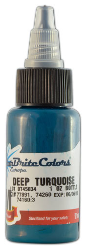 Encre STARBRITE EUROPE, stérile, coloris TURQUOISE - 0I711