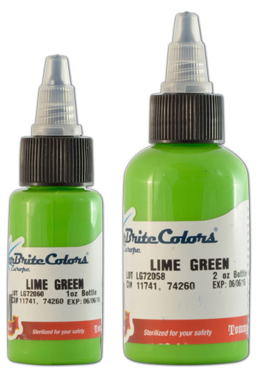 Encre STARBRITE EUROPE, stérile, coloris LIME GREEN