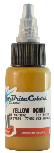 Encre STARBRITE EUROPE, stérile, coloris YELLOW OCHRE - 0I714