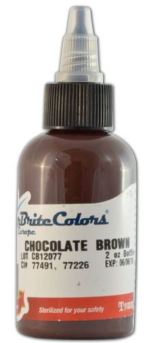 Encre STARBRITE EUROPE, stérile, coloris CHOCOLATE BROWN - 0I716