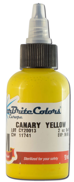 Encre STARBRITE EUROPE, stérile, coloris CANARY YELLOW - 0I752