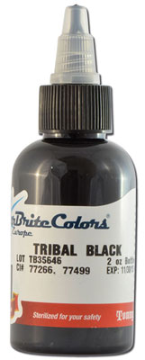 Encre STARBRITE EUROPE, stérile, coloris TRIBAL BLACK - 0I768