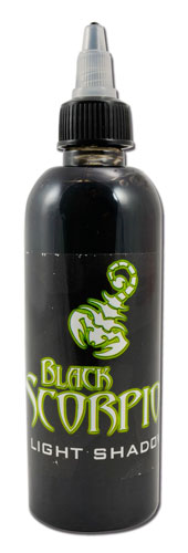 iTC Tattoo et Piercing - Encre BLACK SCORPION, stérile, 150ml, LIGHT SHADOW