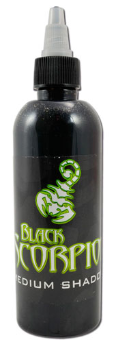 iTC Tattoo et Piercing - Encre BLACK SCORPION, stérile, 150ml, MEDIUM SHADOW