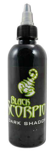 iTC Tattoo et Piercing - Encre BLACK SCORPION, stérile, 150ml, DARK SHADOW