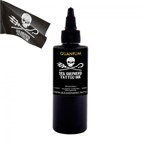 Encre QUANTUM, stérile, Sea Shepherd Greywash 1OZ/30ml