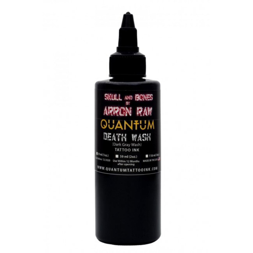 iTC Tattoo et Piercing - Encre QUANTUM, stérile,Arron Raw Greywash 1OZ/30ml