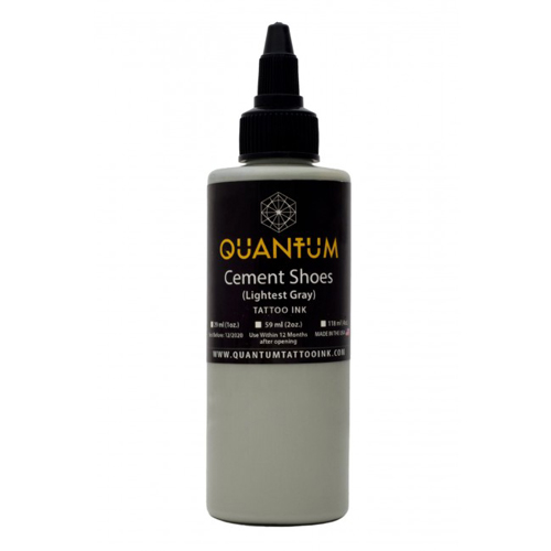 iTC Tattoo et Piercing - Encre QUANTUM, stérile, 0.5OZ/15ml Cement Shoes