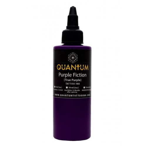 iTC Tattoo et Piercing - Encre QUANTUM, stérile, 0.5OZ/15ml Purple Fiction