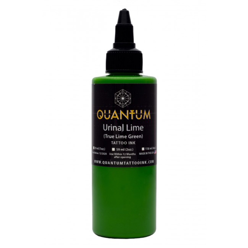 Encre QUANTUM, stérile, 0.5OZ/15ml Urinal Lime