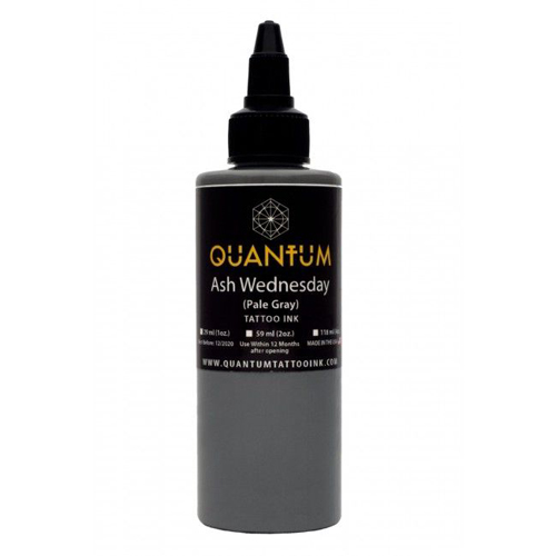 iTC Tattoo et Piercing - Encre QUANTUM, stérile, 1OZ/30ml Ash Wednesday