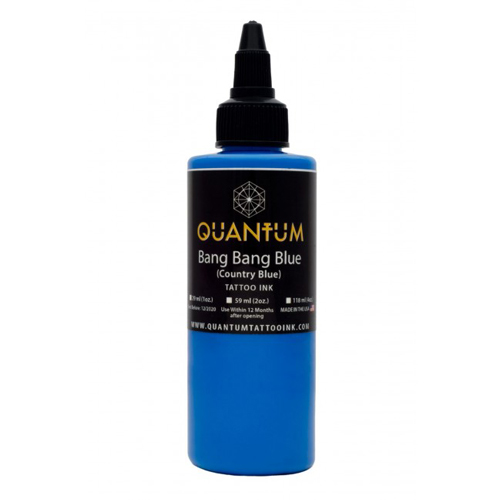 iTC Tattoo et Piercing - Encre QUANTUM, stérile, 1OZ/30ml Bang Bang Blue