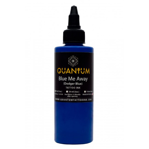 iTC Tattoo et Piercing - Encre QUANTUM, stérile, 1OZ/30ml Blue Me Away