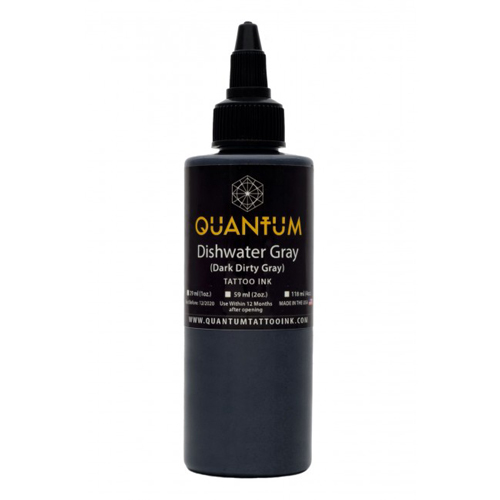 Encre QUANTUM, stérile, 1OZ/30ml Dishwater Gray
