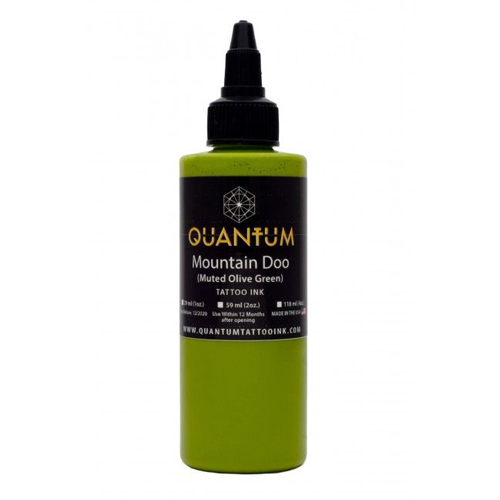 iTC Tattoo et Piercing - Encre QUANTUM, stérile, 1OZ/30ml Mountain Doo