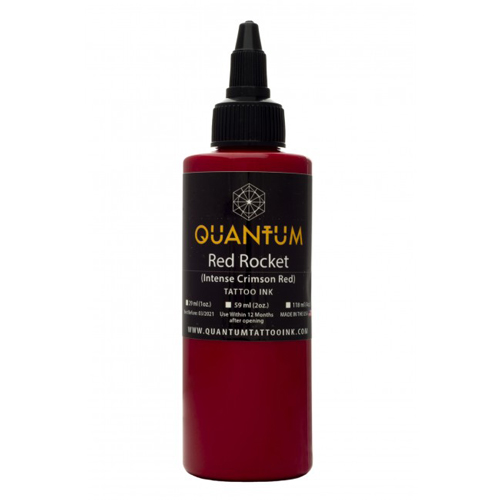 iTC Tattoo et Piercing - Encre QUANTUM, stérile, 1OZ/30ml Red Rocket