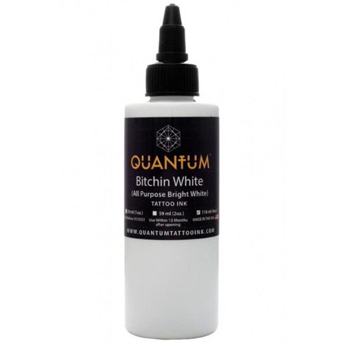iTC Tattoo et Piercing - Encre QUANTUM, stérile, 4OZ/120ml Bitchin White