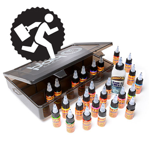 Encre ETERNAL, stérile Travel-kit 1/2oz/15ml (incl stencilstuff)