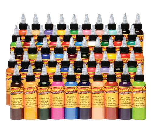 iTC Tattoo et Piercing - Encre ETERNAL, stérile Set Silver 50pcs 1OZ/29ml